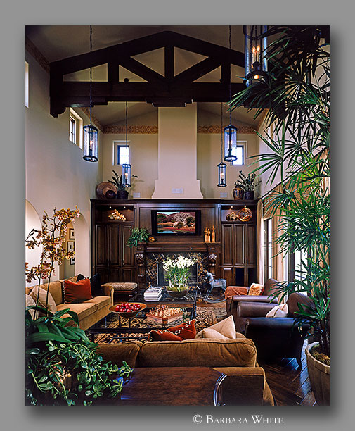 Orange County residence interior