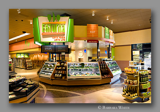 Retail interior photograph